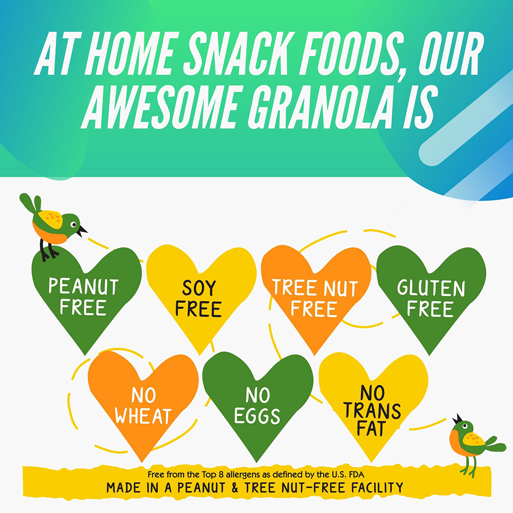 home snack foods awesome granola taste texture fiber 3